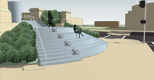 Forsyth Plaza Plans Take Shape