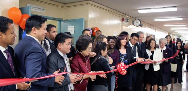 College & Career Pathways Center Opens at Flushing High School