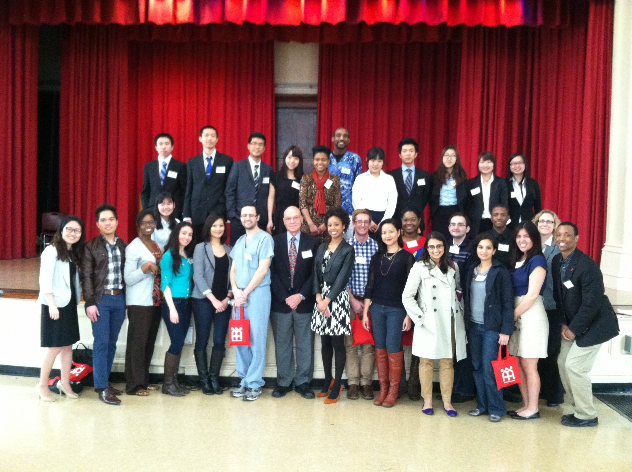 Students Participate in Career Conference at Flushing High School