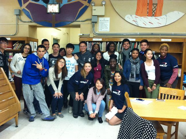 Flushing High School Students Engage in Financial Workshop and Youth Leader Panel