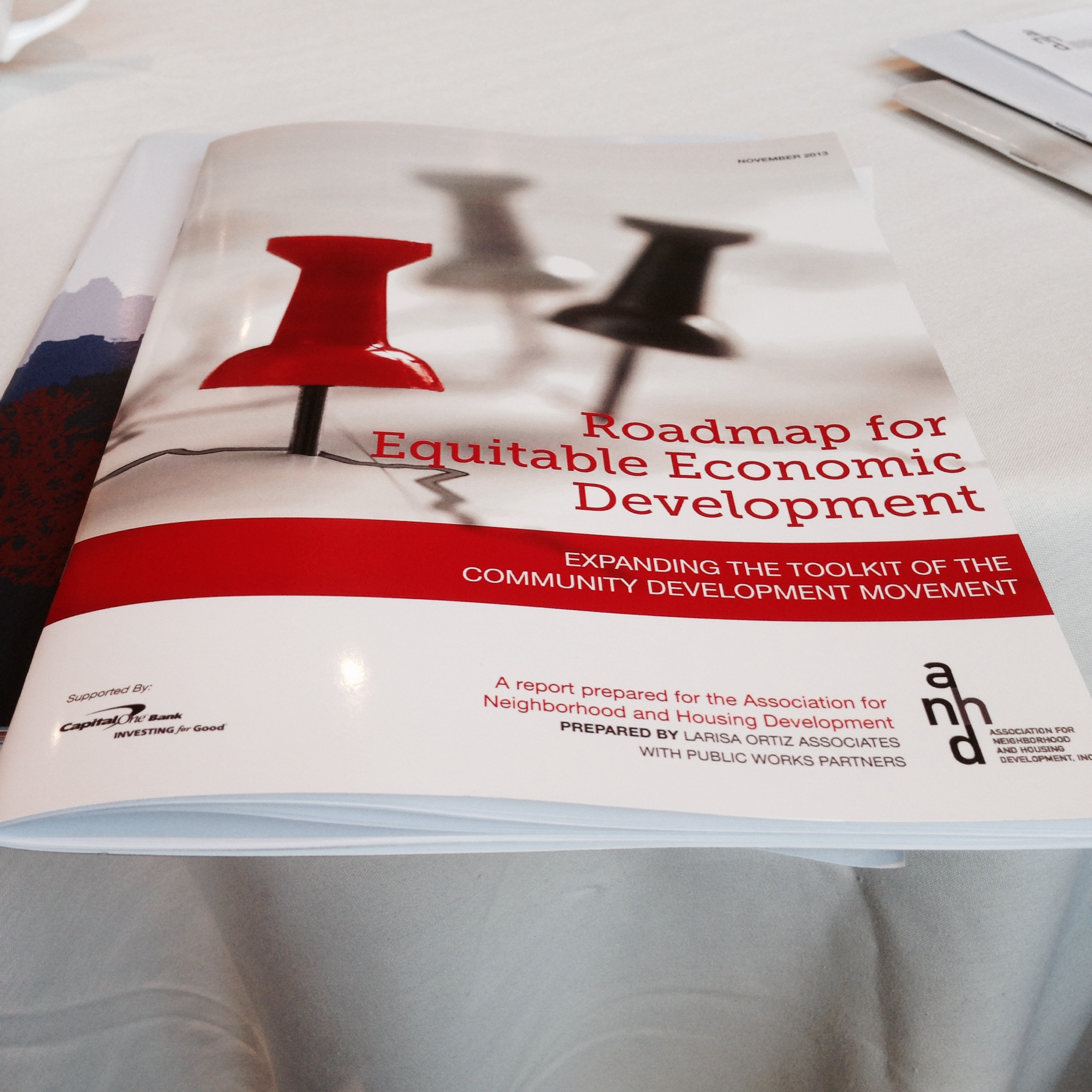 "AAFE Joins ANHD for Release of ""Roadmap for Equitable Economic Development"""