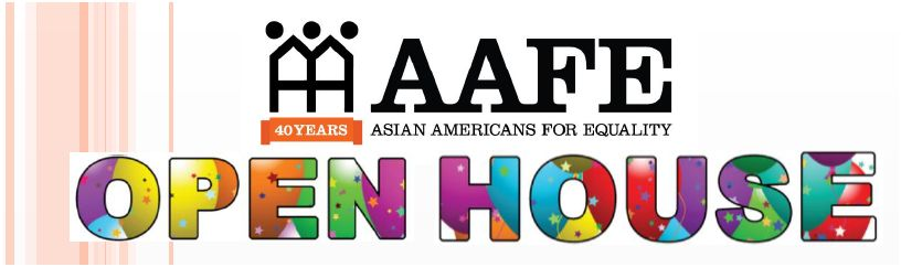 New Date: AAFE to Celebrate Opening of New Offices in Chinatown on Tuesday, February 18