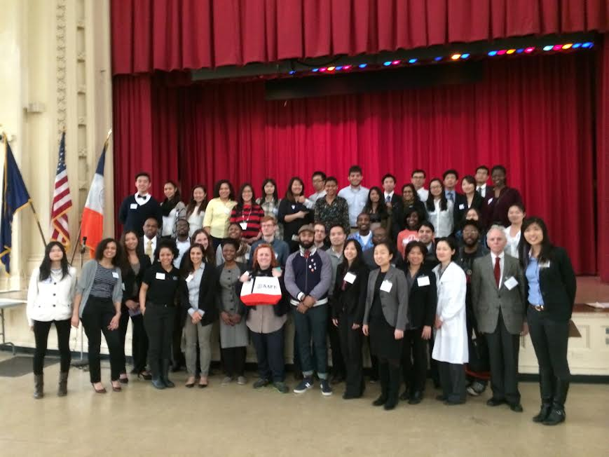 Youth and Family Development Hosts Career Days at Lower East Side Prep and Flushing High School