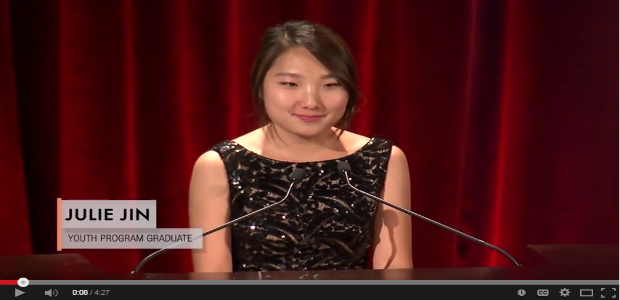 Watch AAFE Youth Program Graduate Speak at KACF Gala