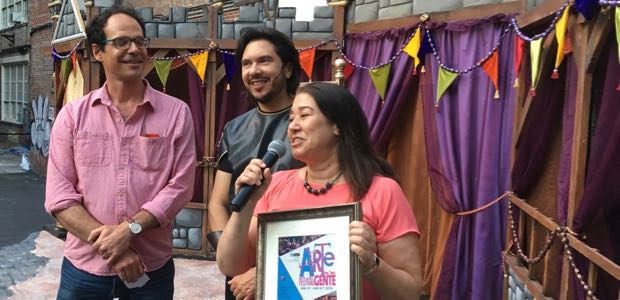 AAFE Receives Community Leadership Award From Teatro SEA