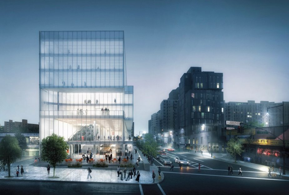Flushing Community Center Ext PM Rendering