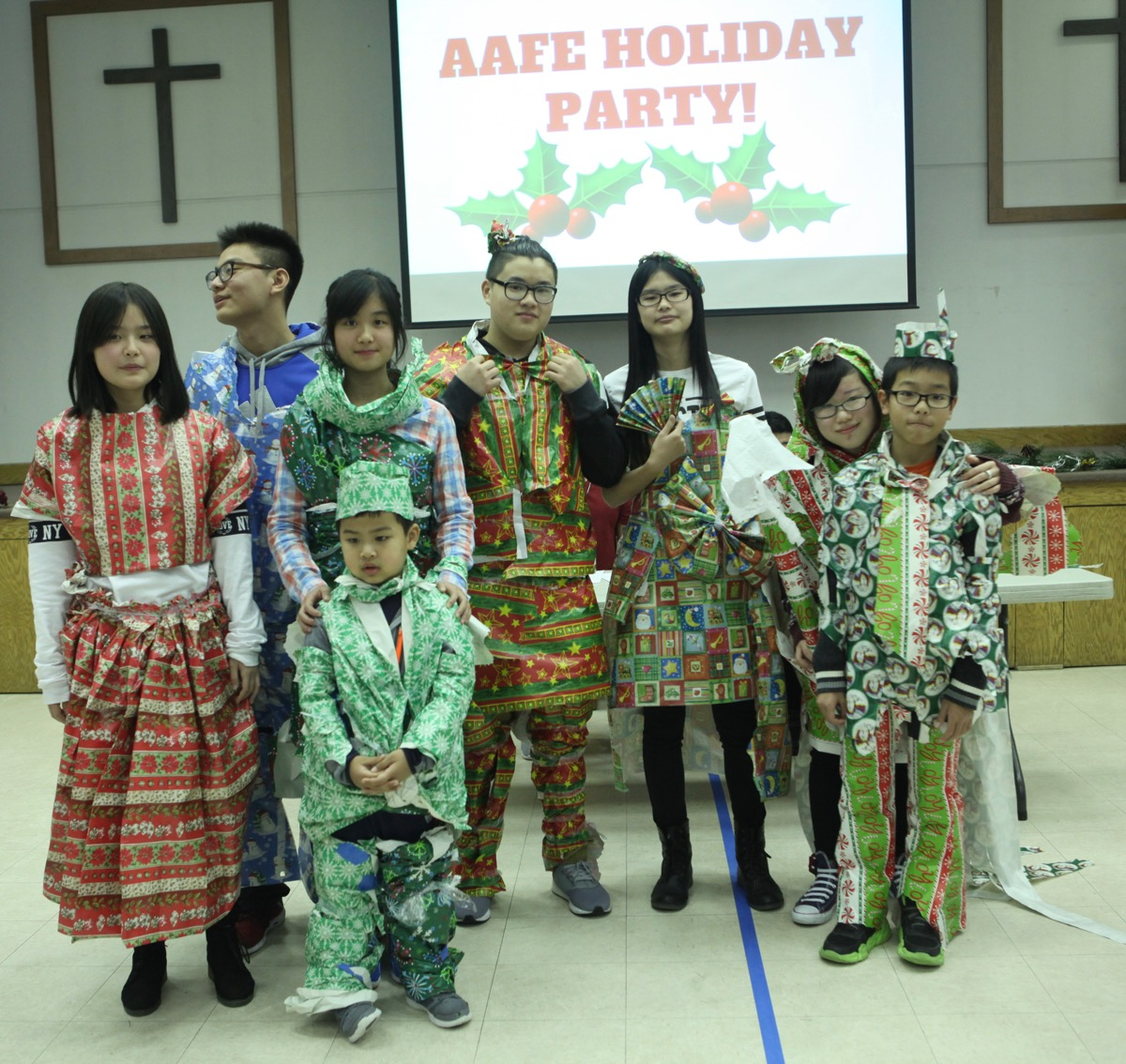 aafe youth holiday party 13