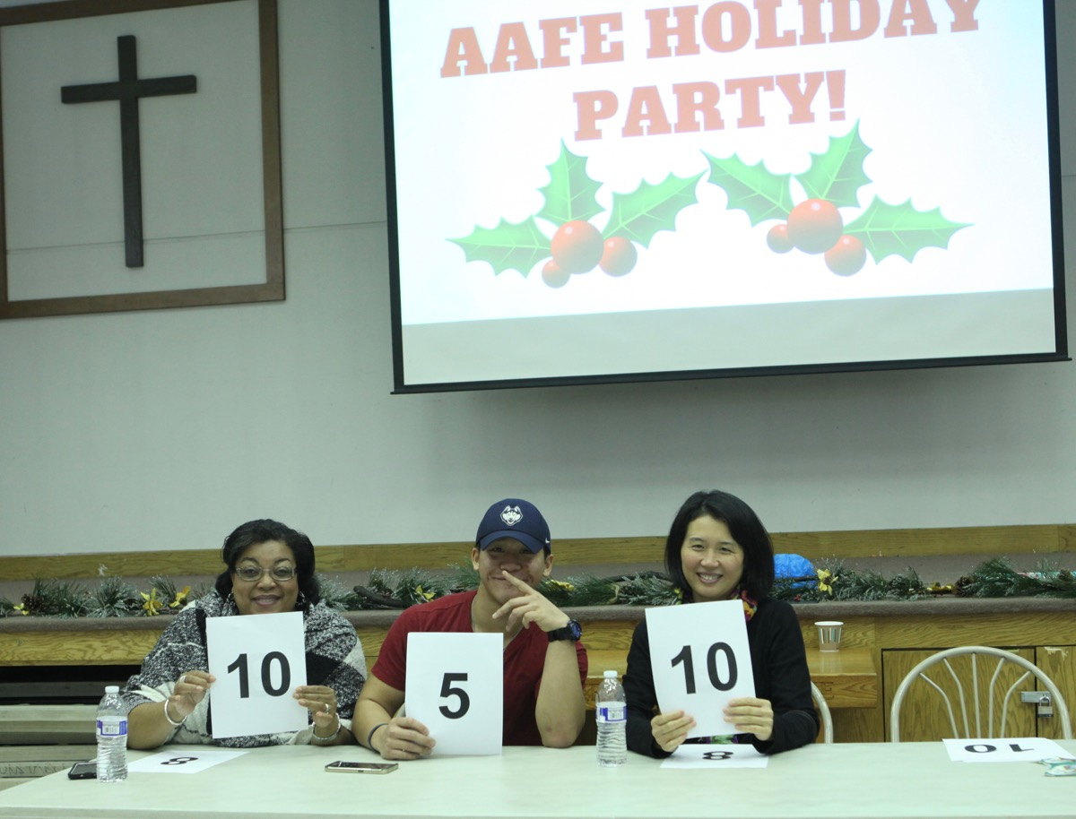 aafe youth holiday party 5