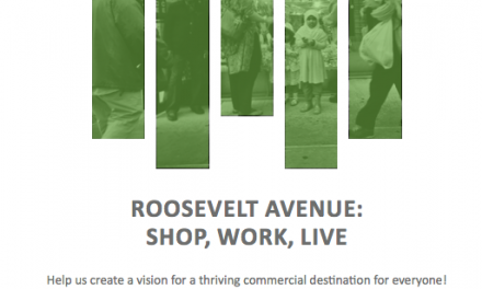Help Create a Vision For Roosevelt Avenue Aug. 22