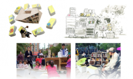 Pop-up Library Comes to Flushing's Lippman Plaza Saturday, Oct. 21