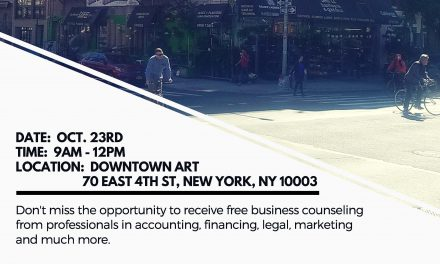 Lower East Side/East Village Small Business Fair Oct. 23