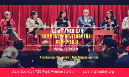 2018 Asian American Community Development Conference: Nov. 9 at the Asia Society