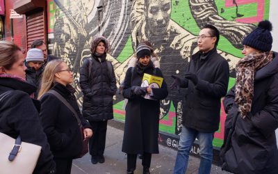 Bay Area Delegation Joins AAFE For Chinatown Housing Tour