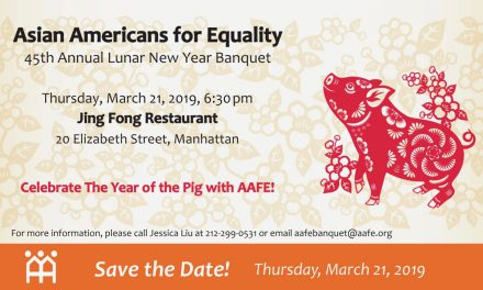 Celebrate the Year of the Pig at AAFE's 45th Annual Lunar New Year Banquet!