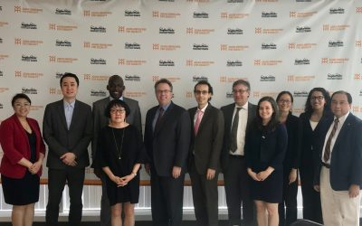 New York Federal Reserve President Visits AAFE Offices in Chinatown