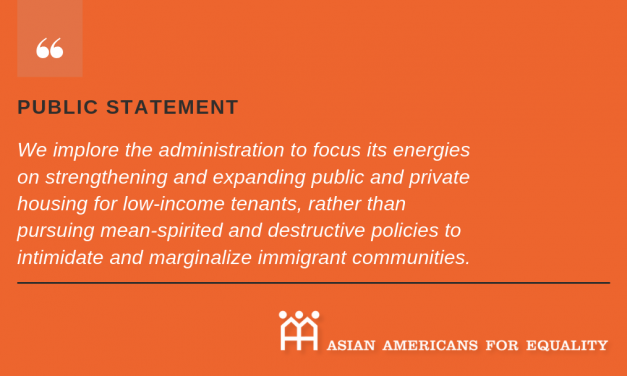 AAFE Opposes Federal Government's Proposed Rule Targeting Mixed-Status Families