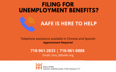 AAFE Offers Multilingual Assistance to Community Members Seeking Unemployment Benefits