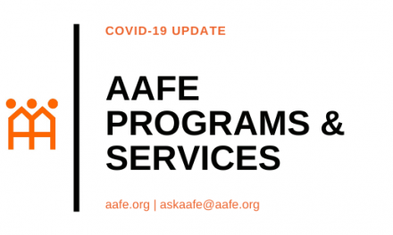 AAFE Services During COVID-19 Outbreak
