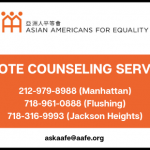 AAFE NEIGHBORHOOD COMMUNITY CENTERS PAUSE IN-PERSON SERVICES DECEMBER 1, 2020; COUNSELING SERVICES AVAILABLE BY REMOTE ONLY