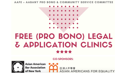 Free Legal Clinics Offered at AAFE Locations in Brooklyn and Queens